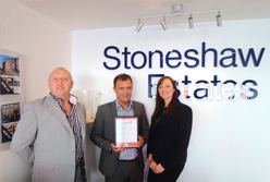 2011 ESTAS BEST LETTING AGENT IN THE UK BRONZE AWARD WINNER